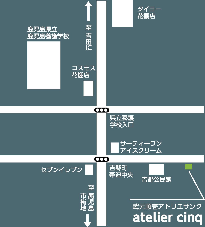 武元順壱アトリエサンク地図